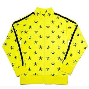 Jeffree Star Yellow tracksuit jacket